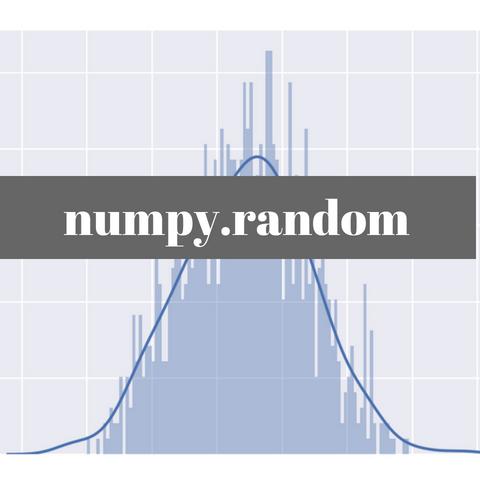 NumPyのrandomルーチンでいろいろな乱数を生成する | 化学の